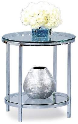 Bassett Mirror Patinoire Round End Table