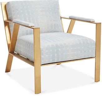 Robin Bruce Bergen Accent Chair - Light Blue
