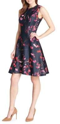 Tommy Hilfiger Photo Blossom Fit-and-Flare Dress