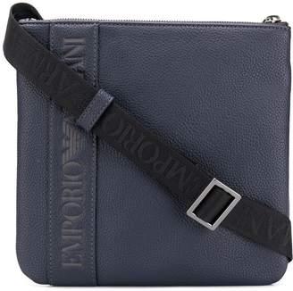 Emporio Armani logo shoulder bag