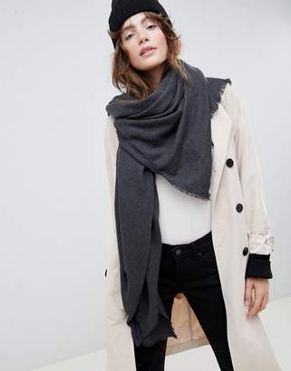 Asos Design DESIGN super soft square lightweight viscose scarf