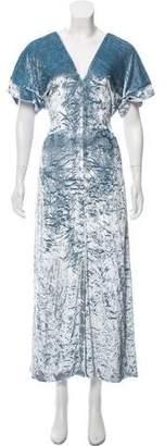 Sonia Rykiel Velvet Maxi Dress w/ Tags