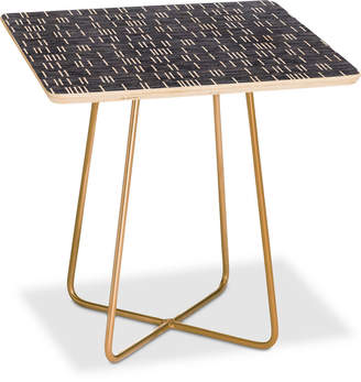 Deny Designs Holli Zollinger Mudcloth Light Square Side Table