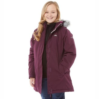 94fc08cc6ee69 at MandMDirect.com · Trespass Girls Fame Insulated Waterproof Parka Jacket  Potent Purple
