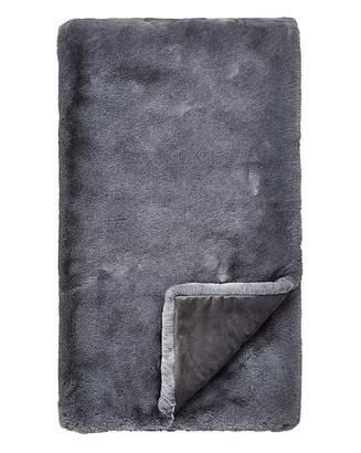 Fashion World Luxe Faux Fur Throw