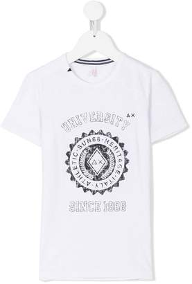 Sun 68 Heritage Athletic print T-shirt