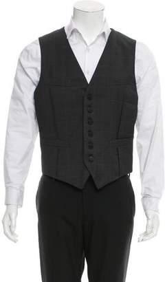 Rag & Bone Wool Suiting Vest