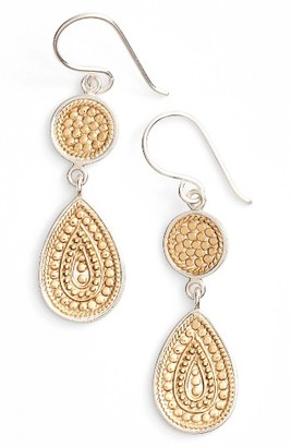 Women's Anna Beck Signature Beaded Double Drop Earrings $170 thestylecure.com