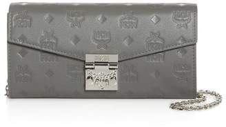 MCM Patricia Small Leather Convertible Crossbody