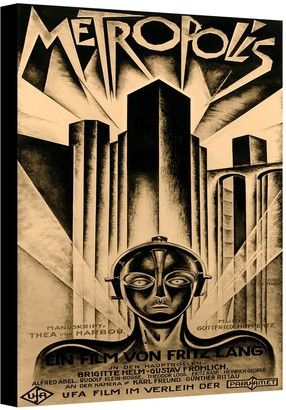Artwall 48'' x 36'' ''Metropolis'' Movie Poster Canvas Wall Art