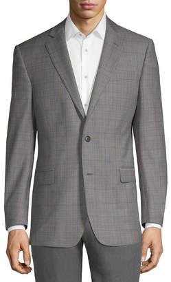 Brooks Brothers Wool-Blend Plaid Jacket