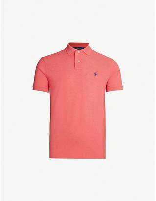 Polo Ralph Lauren Logo-embroidered cotton-piqué polo shirt