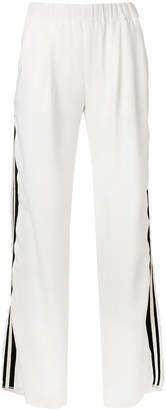 John Richmond side stripe trousers
