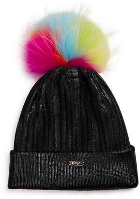 5c10d2f39da GiGi Girls  Metallic Hat with Neon Fur Pom - 100% Exclusive