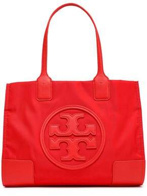 Tory Burch Ella Leather-appliqued Shell Tote
