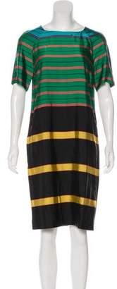 Dries Van Noten Striped Shift Dress