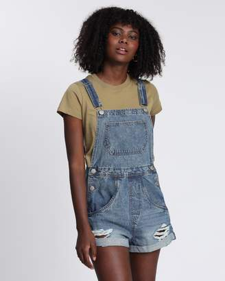 Cotton On 90s Denim Overalls
