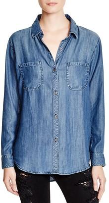 Rails Carter Denim Shirt $148 thestylecure.com