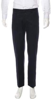 Neil Barrett Wool-Blend Striped Pants