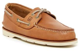 Sperry Leeward 2-Eye Leather Boat Shoe - Wide Width Available