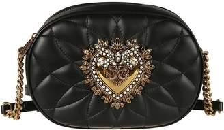 Dolce & Gabbana Heart Casual Style Chain Shoulder Bag
