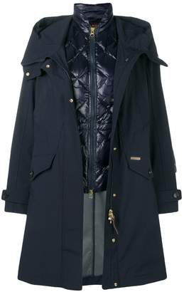 Woolrich layered padded parka