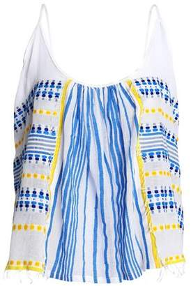 Lemlem Printed Cotton-Gauze Top