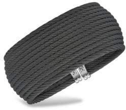 Alor Noir Stainless Steel Cuff Bracelet