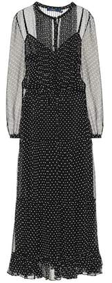 Polo Ralph Lauren Polka-dot silk dress