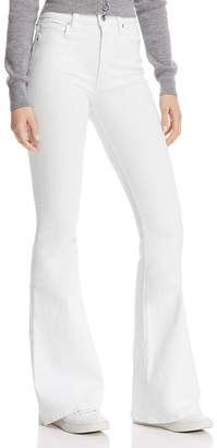 3dc21e18b272 Hudson Holly Flare Jeans in White