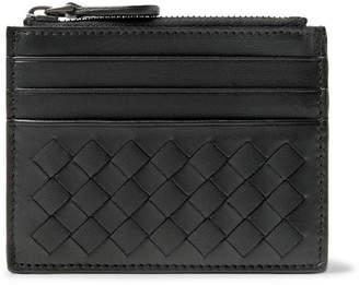 Bottega Veneta Intrecciato Leather Zipped Cardholder