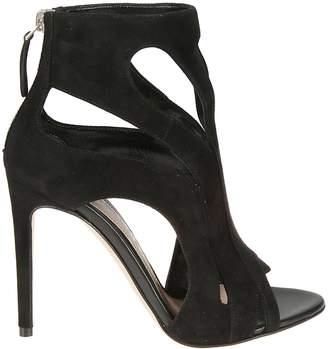 Alexander McQueen Zipped Open-toe Sandals