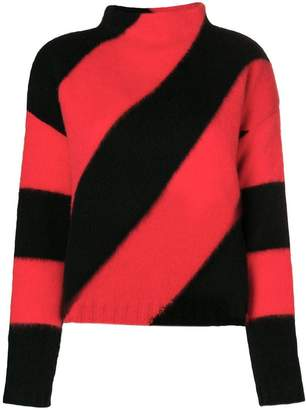 Pierantonio Gaspari Pierantoniogaspari textured striped sweater