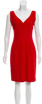 Diane von Furstenberg V-Neck Knee-Length Dress