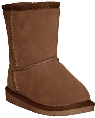 Dawgs Kids' Cow Suede Leather Winter Boots