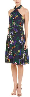 Karen Millen Midi Silk Dress