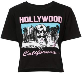 Local Authority hollywood print T-shirt