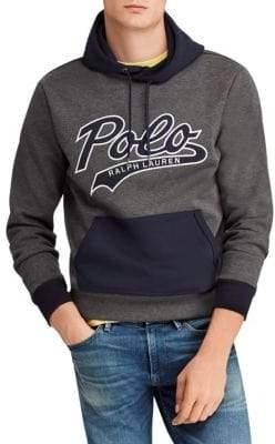 Polo Ralph Lauren Double-Knit Long-Sleeve Hoodie