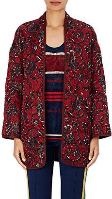 Isabel Marant Étoile Women's Daca Floral-Print Cotton Jacket $415 thestylecure.com