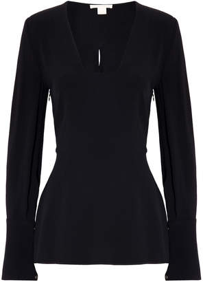 Antonio Berardi Long Sleeves Peplum Top