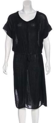 Raquel Allegra Silk Midi Dress