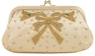 Farfalla Womens 90587 Clutch Gold