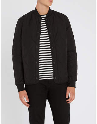 Paul Smith Quilted shell bomber jacket