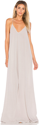 Michael Stars Slip Maxi Dress in White $138 thestylecure.com