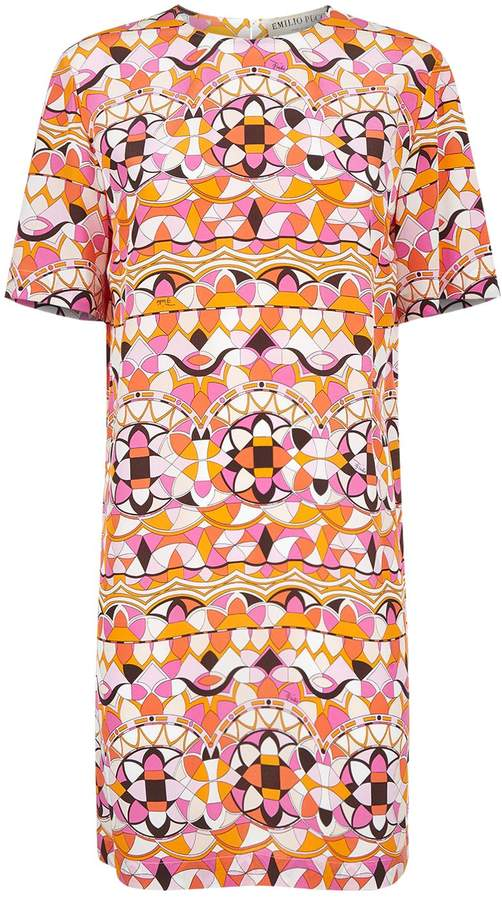 Emilio Pucci Arenal Patterned Tunic Dress