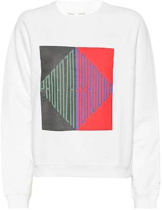 Proenza Schouler Printed cotton sweatshirt