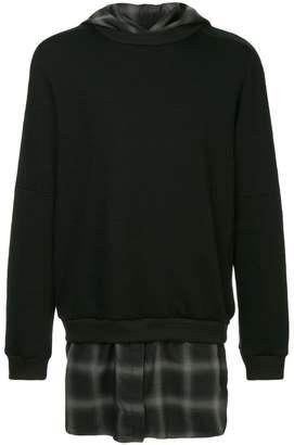 Strateas Carlucci hybrid hoodie