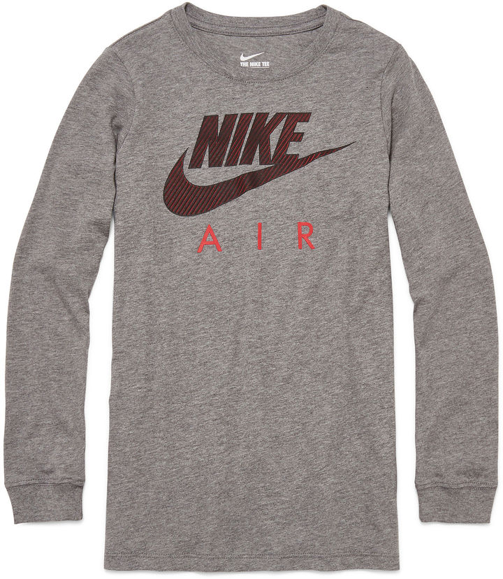Nike Long-Sleeve Graphic Tee - Boys
