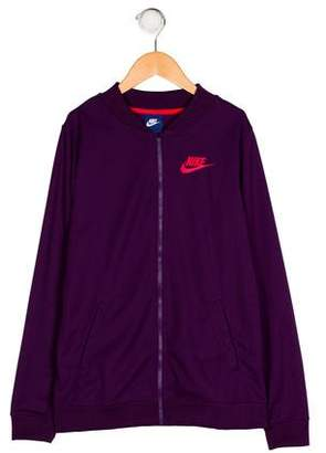 Nike Girls' Knit Zip-Up Jacket