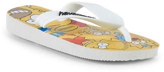 Havaianas Kid's Simpsons Rubber Flip Flops
